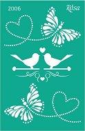 Самозалепващ шаблон - Любов
