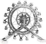 """Виенско колело - 3D метален пъзел от серията """"Tronico"""" - пъзел"""