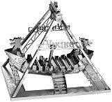 """Лунапарк атракция - Викингски кораб - 3D метален пъзел от серията """"Tronico"""" -"""