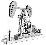 """Нефтена помпа - 3D метален пъзел от серията """"Tronico"""" - пъзел"""
