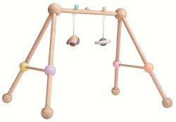 Активна гимнастика - Дървена играчка за бебета -