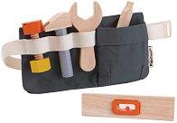 Колан с инструменти - Детска дървена играчка -