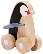 Пингвин - Дървена играчка -