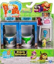 Flush Force - Серия 1 - Комплект от 2 тоалетни чинии с 8 фигурки изненада -