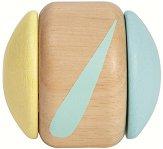 Дрънкалка - Тракащо колелце - Дървена играчка -