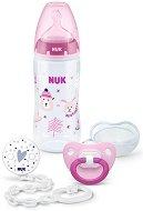 Комплект за новородено - Winter - С шише, залъгалка и клипс за залъгалка -