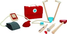 Лекарски комплект - Детски дървени играчки -