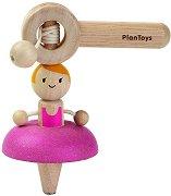 Пумпал - Балерина - Детска дървена играчка -