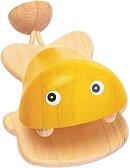 Дървени кастанети - Рибка - Детски музикален инструмент -