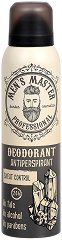 Men's Master Professional Deodorant Antiperspirant - Мъжки дезодорант против изпотяване -