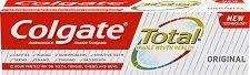 Colgate Total Original Toothpaste - Паста за зъби за цялостна устна хигиена -