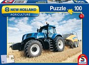Комбайн - New Holland - пъзел