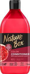 Nature Box Pomegranate Oil Color Conditioner - Натурален балсам за боядисана коса с масло от нар - маска