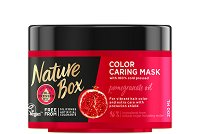 Nature Box Pomegranate Oil Color Caring Mask - Маска за боядисана коса с масло от нар - шампоан