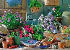 """Цветна градина - От колекцията """"Premium Quality"""" - пъзел"""