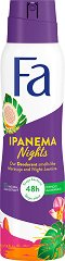 Fa Brazilian Vibes Ipanema Nights Deodorant - Дамски дезодорант с екстракт от маракуя и аромат на жасмин - дезодорант