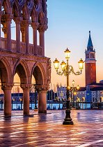 """Вечер на площад Пиацета, Венеция - От колекцията """"Premium Quality"""" - пъзел"""