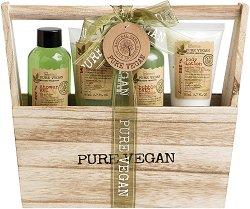 IDC Institute Pure Vegan - Подаръчен комплект с козметика за баня - молив