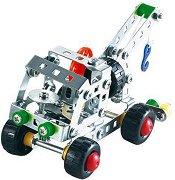 """Аварийна кола - Метален конструктор от серията """"Tronico: Silver"""" -"""