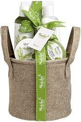 IDC Institute Matcha Tea - Подаръчен комплект с козметика за баня -