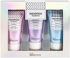 IDC Institute Memphis Holographic - Подаръчен комплект с козметика за тяло с плодов аромат -