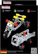 """Метален конструктор 2 в 1 - Мотор и камион - От серията """"Tronico: Silver"""" -"""