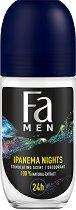 Fa Men Brazilian Vibes Ipanema Nights Roll-On Deodorant - Ролон дезодорант за мъже - шампоан