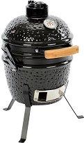 Мини керамично барбекю на дървени въглища - Kamado