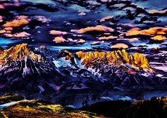 """Планински пейзаж - Мишел фон Хазел (Michael von Hazel) : От колекцията """"Premium Quality"""" -"""