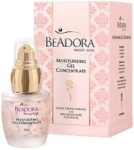 Beadora Bright Rose Moisturizing Gel Concentrate - Концентиран овлажняващ гел за лице - душ гел