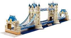 """Тауър Бридж, Лондон - 3D пъзел от колекцията """"National Geographic Kids"""" -"""