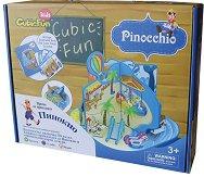 Пинокио - 3D пъзел с приказка - пъзел