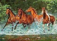 Препускащи коне - пъзел