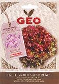 """Био семена от Червена салата - Red Salad Bowl - От серията """"Geo"""""""
