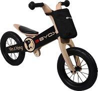 Yin Yang - Детски дървен велосипед без педали