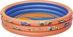 Надуваем детски басейн - Hot Wheels - С диаметър 122 cm - басейн