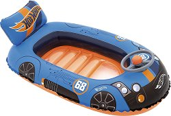 Надуваема детска лодка - Hot Wheels - играчка