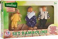 Семейство дървени кукли -