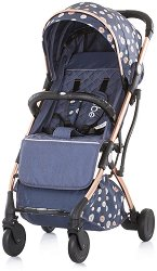 Лятна бебешка количка - Vibe - С 4 колела -