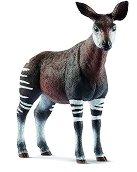 """Окапи - Фигура от серията """"Животни от дивия свят"""" - играчка"""