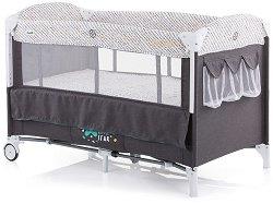 Сгъваемо бебешко легло на две нива - Merida 2019 -
