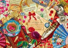 """Старинни любовни писма - От колекцията """"Premium Quality"""" - пъзел"""