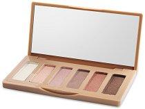 IDC Color Nudes Palette - Палитра с 6 цвята сенки за очи -
