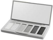 IDC Color Smoky Palette - Палитра с 6 цвята сенки за очи -