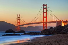 """Мостът Голдън Грейт, Сан Франциско - От колекцията """"Premium Quality"""" - пъзел"""