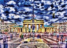 """Бранденбургската врата, Германия - Мишел фон Хазел (Michael von Hazel) : От колекцията """"Premium Quality"""" - пъзел"""