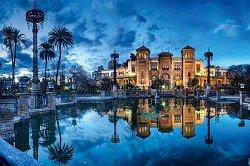 """Площад Испания в град Севиля - От колекцията """"Premium Quality"""" - пъзел"""