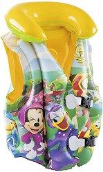 Детска спасителна жилетка - Мики Маус - С размери 51 х 46 cm - продукт