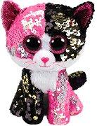 """Коте - Malibu - Плюшена играчка с пайети от серията """"Flippables"""" - играчка"""