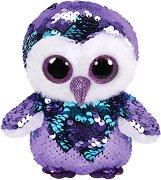"""Бухал -  Moonlight - Плюшена играчка с пайети от серията """"Flippables"""" - играчка"""